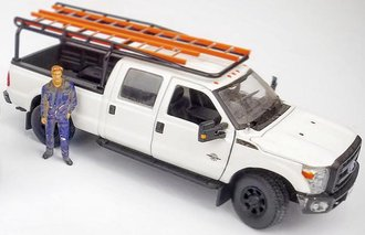 1:50 Ladder Rack for Ford Pickup (Short Bed)