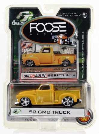 Foose Designs - 1952 GMC Truck (Yellow)