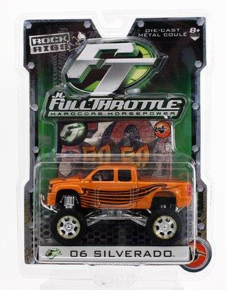 Rock Rigs 2006 Chevy Silverado 4x4 Pickup Truck (Orange)