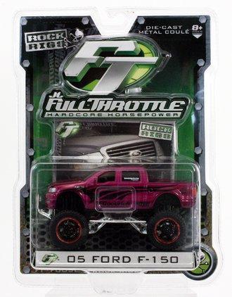 """Rock Rigs 2005 Ford F-150 4x4 Pickup Truck """"BF Goodrich"""" (Purple)"""