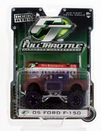 Rock Rigs 2005 Ford F-150 4x4 Pickup Truck (Purple w/Mud)