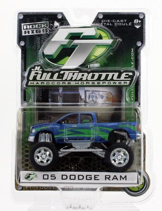 "Rock Rigs 2005 Dodge Ram 4x4 Pickup Truck ""Toyo Tires"" (Blue)"