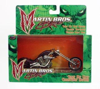 Martin Bros. Bikes - 1:18 Chopper (Purple)