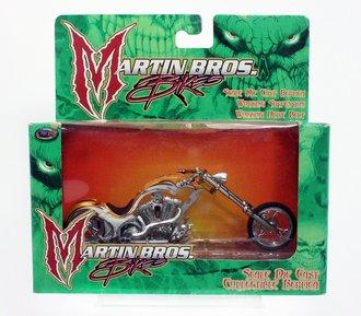 Martin Bros. Bikes - 1:18 Chopper (Gold/White)