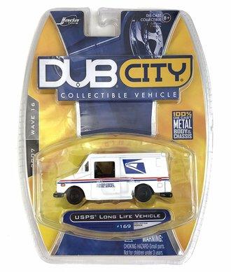 "Dub City USPS Long Life Vehicle ""USPS"" (Standard Wheels) (White)"