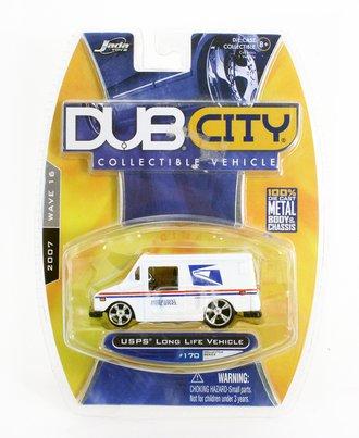 "Dub City USPS Long Life Vehicle ""USPS"" (Custom Wheels) (White)"
