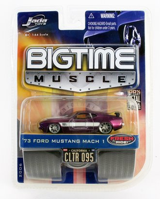 Big Time Muscle '73 Ford Mustang Mach 1 (Purple)