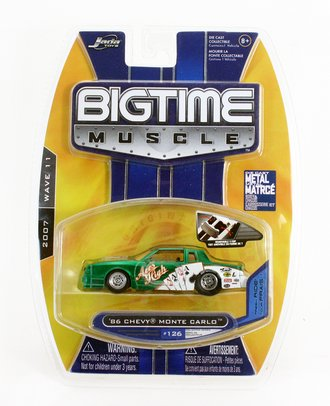 """Big Time Muscle '86 Chevy Monte Carlo """"Aces High"""" (Green)"""