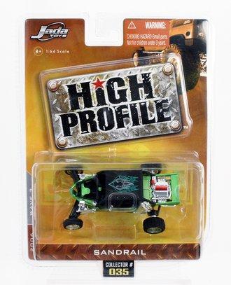High Profile Sandrail (Green/Black)