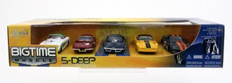 Big Time Muscle 5-Deep Corvette (Set of 5)