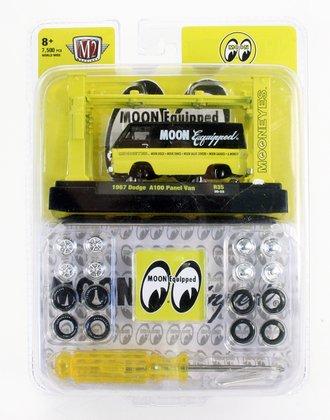 """1967 Dodge A100 Panel Van """"Mooneyes"""" (Black/Yellow)"""