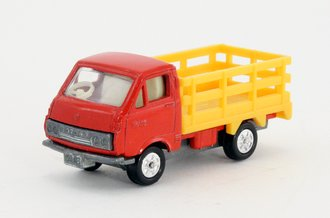 Toyota Hiace Ranch Truck Livestock Carrier (Red/Yellow) *** VHTF ***