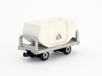 """Container Luggage Transporter """"American Airlines"""" (White)"""