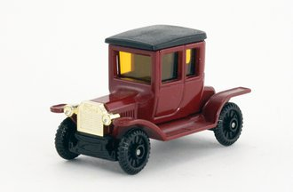 Ford Model T Coupe Closed (Maroon/Black)