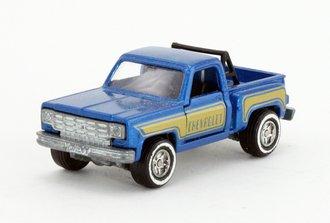 Chevrolet Stepside Pickup Truck (Blue w/Black Rollbar) *** VHTF ***
