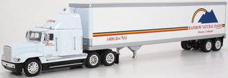 "Freightliner FLD120 w/48' Trailer ""Rainbow Natural Foods"" (White)"