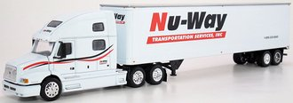 "Volvo 770 w/48' Trailer ""Nu Way"" (White)"