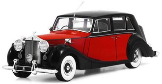 1:43 1952 Rolls-Royce Silver Wraith Royal (Red/Black)