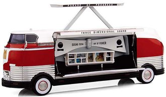 "1:43 1954 GM Futurliner GM Parade of Progress ""Three Dimensional Sound"""