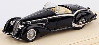 1:43 Alfa Romeo 1938 8C 2900B Loungo Touring Spider (Black)