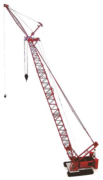 Manitowoc 555 Crane w/Extended Fixed Boom