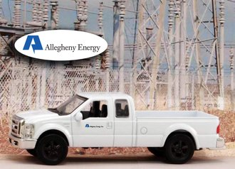 """1:43 Ford F-250 Super Duty Pickup """"Allegheny Energy"""""""