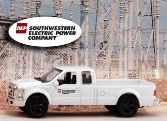 "1:43 Ford F-250 Super Duty Pickup ""American Electric Power - Southwestern"""