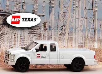 """1:43 Ford F-250 Super Duty Pickup """"American Electric Power - Texas"""""""