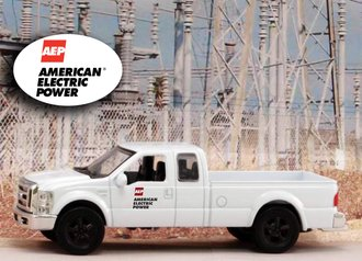 """1:43 Ford F-250 Super Duty Pickup """"American Electric Power"""""""