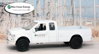 """1:43 Ford F-250 Super Duty Pickup """"Blue Grass Energy"""""""