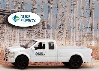 """1:43 Ford F-250 Super Duty Pickup """"Duke Energy"""" (New Logo)"""