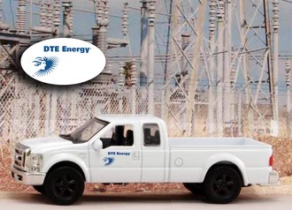 """1:43 Ford F-250 Super Duty Pickup """"DTE Energy - Michigan"""""""