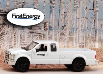 """1:43 Ford F-250 Super Duty Pickup """"FirstEnergy"""""""