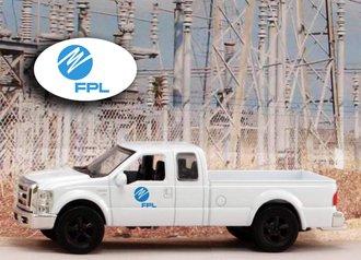 "1:43 Ford F-250 Super Duty Pickup ""Florida Power & Light"""