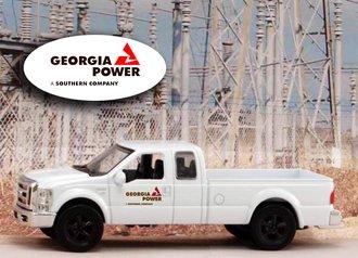 "1:43 Ford F-250 Super Duty Pickup ""Georgia Power"""