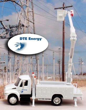 "1:43 International Bucket Truck ""DTE Energy - Michigan"""