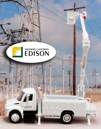 "1:43 International Bucket Truck ""Edison - Southern California"""