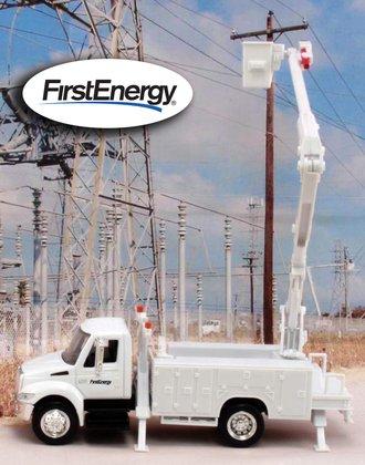 "1:43 International Bucket Truck ""FirstEnergy"""