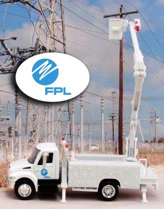 "1:43 International Bucket Truck ""Florida Power & Light"""