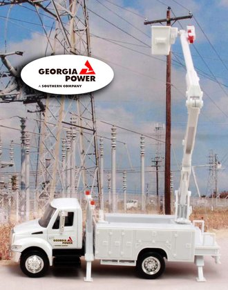 "1:43 International Bucket Truck ""Georgia Power"""