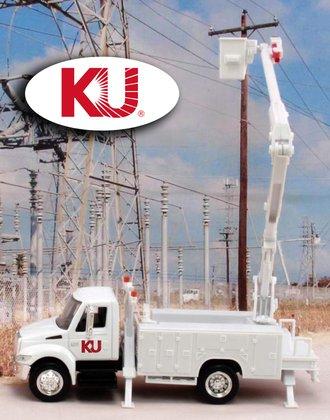 "1:43 International Bucket Truck ""Kentucky Utilities"""
