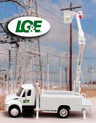 "1:43 International Bucket Truck ""Louisville Gas & Electric"""