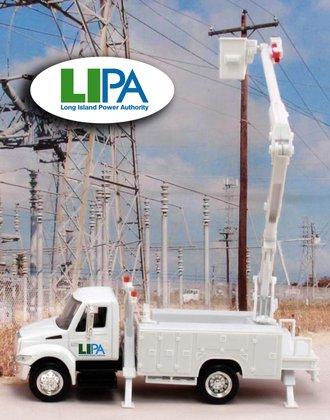 "1:43 International Bucket Truck ""Long Island Power Authority"""