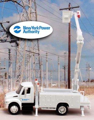 "1:43 International Bucket Truck ""New York Power Authority"""