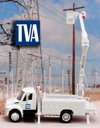 "1:43 International Bucket Truck ""Tennessee Valley Authority"""