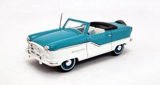 1959 Nash Metropolitan Open Convertible (Teal/White)