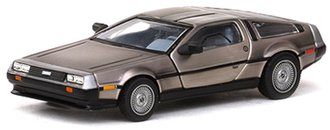 DeLorean DMC 12 Coupe (Stainless Steel)