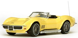 1968 Corvette Convertible (Safari Yellow)