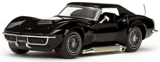 1:43 1968 Corvette Coupe (Tuxedo Black)