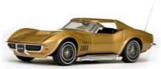 1969 Corvette Coupe (Riverside Gold)